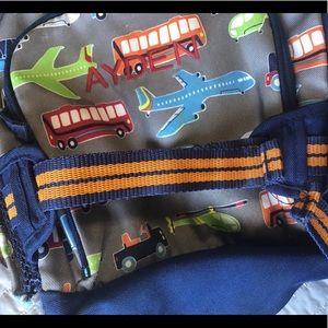 Pottery barn custom boy's backpack 🎒